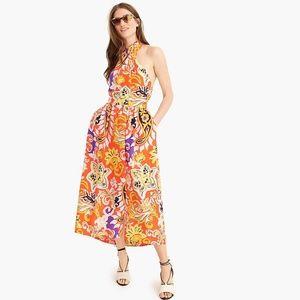 J. Crew Silk Sarong Dress